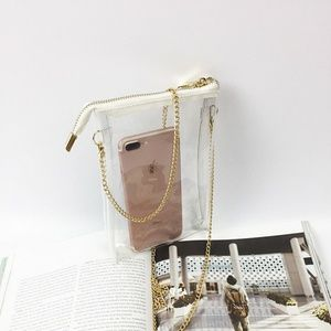 Cute Transparent Handbag